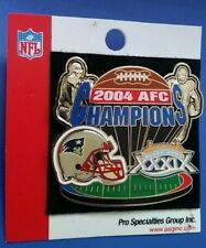 Nfl Super Bowl Xxix New England Patriots 2004 Afc Champions Collectible Psg Pin