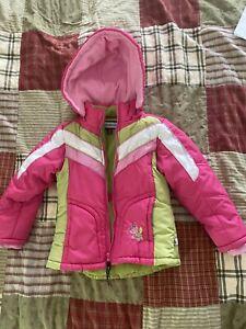 Rothschild Girls Pink Hooded Jacket Size 5/6 Coat