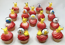 Pokemon With Pikachu Cake Topper and CupCake Toppers   ***BRAND NEW***