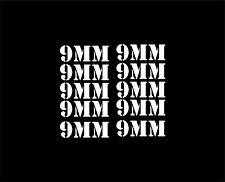 BZ   9MM (10) Mag decals - sticker AR15 magazine S&W  Colt