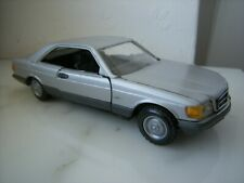 Mercedes-Benz W126 Coupe 380 500  560 SEC  SILBER - NZG  Germany - 1:43 500SEC