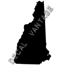 New Hampshire Vinyl Sticker Decal State NH - Choose Size & Color