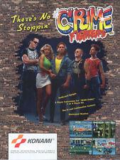 Crime Fighters Konami Arcade Jamma PCB 2-Player Upgrade Kit