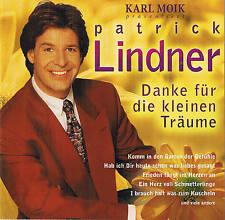 """PATRICK LINDNER """"Danke für die kleinen Träume"""" BMG Ariola 1999 CD NEU & OVP"""