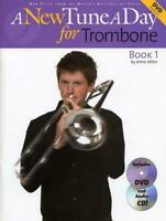 A New Tune A Day: Trombone - Book 1  Trombone  Book with CD & DVD MUSBM11583