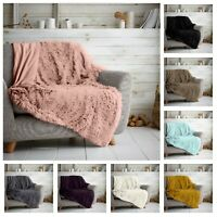 Luxury Mink Hug & Snug Large Throw Super Soft Warm Cosy Blanket Bed Sofa Throw