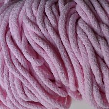 Soft 100% cotton cord 5.5 mm diameter 11 colours - crocheting, bags, pads, rugs