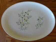 "Vintage Taylor Smith & Taylor Colorcraft HIDDEN VALLEY Oval Platter Plate 13.25"""