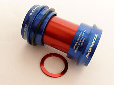 Mr-ride Token BB Bottom Bracket CUPSET / Bb30 Frame SRAM Crank Set Bb30ar Blue