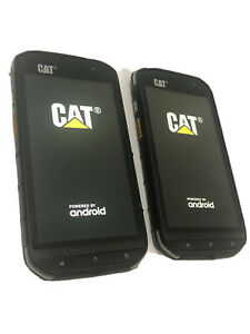 Lot of 2 CAT S48C 32GB Android Black GSM Unlocked Verizon AT&T Sprint T-Mobile