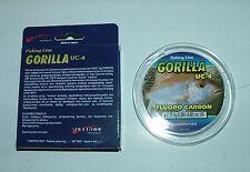 GORILLA UC-4 FLUOROCARBON Tubertini #0,20 mm - 5,280 kg  - 100 mt fluoro carbon