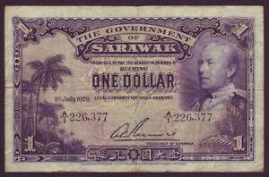 Sarawak • 1929 • One Dollar ($1)