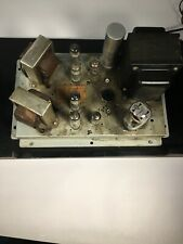 Vintage Motorola Tube Amp Hs-711a Chassis Tested