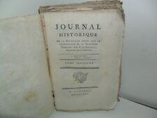 Journal Historique de la Révolution opérée dans la Constitution de la Monarchie