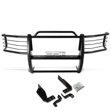 Fit 92-96 Ford F150-F350 Pickup Black Coated Mild Steel Front Grill Frame Guard