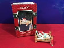 Enesco Treasury Ornament Through the Years Baby First bunk Bed 1992 NEW E6