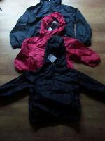 Boys Next Navy packaway waterproof hooded cagule Age  12-18 months BNWT  xx