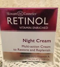Skincare Cosmetics Retinol NIGHT Cream 400,000 I.U.'s Vitamin A    2.25 oz  63 g