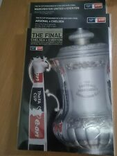 More details for fa cup final 2009 chelsea v everton + both semi final programmes new
