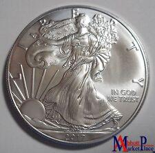 2017 1 oz BU Silver American Eagle Fresh From Mint Roll LT3429