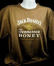 Jack Daniels Whiskey, Honey T-Shirt - Gr. L - Full Logo - hohe Qualität!!