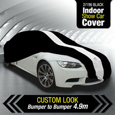 AUTOTECNICA BLACK INDOOR SHOW CAR COVER FORD MUSTANG GT CONVERTIBLE 2015-2019 2/