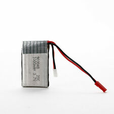 Universal 3.7V 20C 1000mAh Li-Po Battery with PCB for RC Airplane Quadcopter