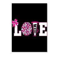 3/8 Cheerleading Love Cheerleader Cheer Sticker - Portrait By Jacksboston Llc