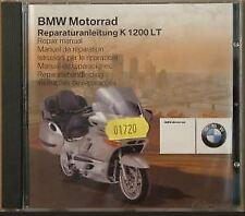 NEW GENUINE REPAIR MANUAL CD ROM FOR BMW K1200LT 1997 - 2003 MODELS