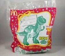 1999 McDonald's Disney Pixar TOY STORY 2  REX Candy Dispenser NIP