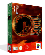 Mortal Kombat Trilogy N64 Replacement Game Case Box + Cover Art work No Game