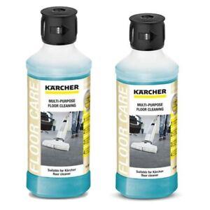 Karcher RM536 FC5 Multi Purpose Floor Cleaning Detergent 6.295-944.0  X 2-500ml