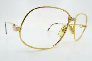 Vintage gold filled Cartier Paris eyeglasses frames mod Panthere 56-14 France