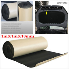 10mm Car Soundproof Noise Insulation Sound Deadener Acoustic Foam Material 1X1m