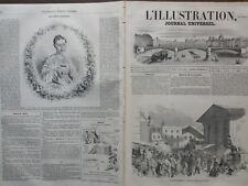 L'ILLUSTRATION 1852 N° 491 UNE ELECTION EN ANGLETERRE - dessin de EDMOND MORIN