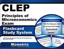 CLEP Principles of Microeconomics Exam Flashcard Study System