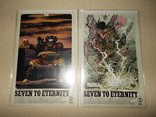 SEVEN TO ETERNITY #7 NM IMAGES OF TOMORROW VARIANT SET REMENDER IMAGE