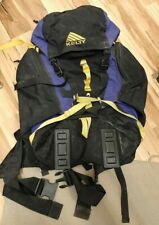 Kelty Tempest Classic Internal Frame Hiking Backpack Day Pack Camping Blue Black
