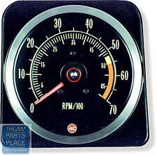 1969 Chevrolet Camaro Dash Tachometer SS 325 Or 350 HP 7000 / 5500 Red Line