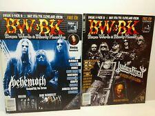 BW & BK Brave Worlds & Bloody Knuckles 86 87 Magazine lot Behemoth Judas Priest