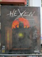 Hexen Beyond Heretic Rare Big Box MAC Game 1996 Extremely NEW SEALED VINTAGE