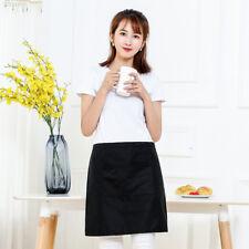 AB8A with Pocket Short Waist Apron Waiter Waitress Barista Workwear Unisex