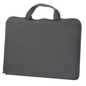 """15.6"""" Black Laptop Notebook Sleeve Bag Case Cover Skin for Dell Sony HP Apple"""