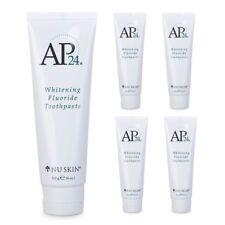 5 Tubes NuSkin  110 g/4Oz Tubes Authentic AP-24 Whitening Fluoride Toothpaste