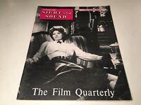 Sight And Sound Vintage Cinema Movie Magazine Summer 1960 Sophia Loren Cover