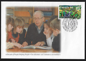 Canada - Special Event Cover - 1999, ʺA Decade of People Helping Peopleʺ #S35