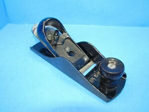 nice Sears Dunlap wood block plane made by Sargent