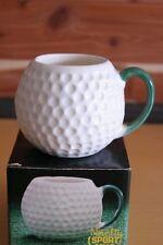 Vintage Golf ball sports Coffee ceramic hot chocolate cocoa mug cup Golfer Gift