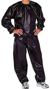 Sauna Sweat Suit Fitness Slimming Weight Loss Exercise Running Boxing Gym UK