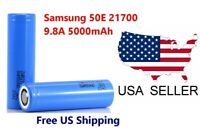 Wholesale Samsung 21700 50E 5000mAh 9.8A High Drain 3.7V Rechargeable Battery *